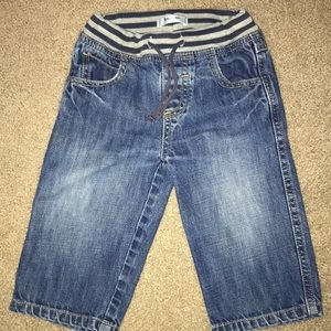 Baby Boden 12/18 Month Pull On Jeans